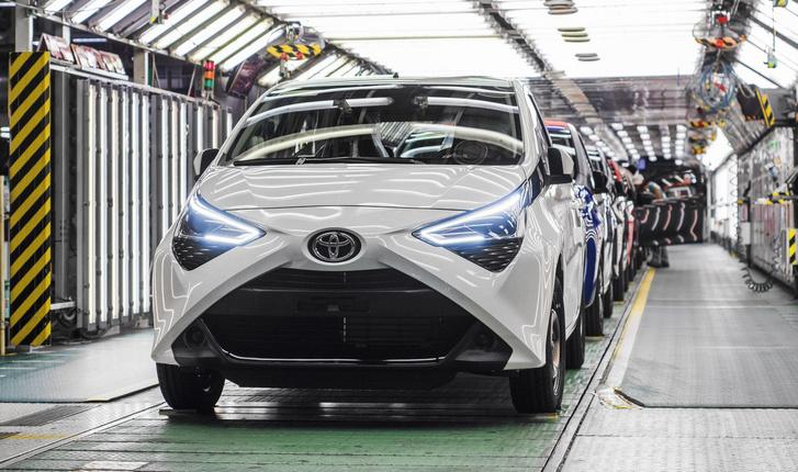 Frissen készült Toyota Aygo a TPCA kolíni üzemében