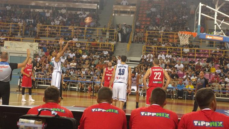 Kikapott görögöktől a férfi kosárlabda-válogatott