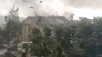Tornádó tombolt Luxemburgban, többen megsérültek