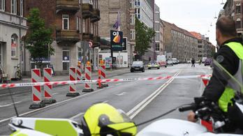 Robbanás történt egy koppenhágai rendőrőrsnél