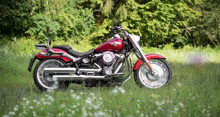Az 50-es évek Harleyjai nagyon ilyenek voltak