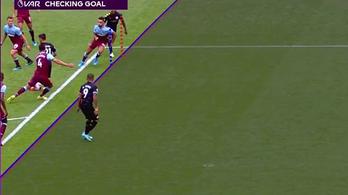 A Manchester City a VAR első angol áldozata, hajszálon múló gólt vontak vissza