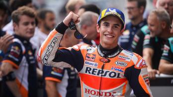 Hihetetlen rekordot döntött Márquez a MotoGP-ben