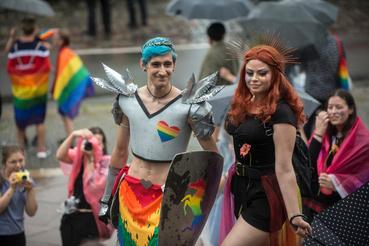A Prague Pride-ot immár kilencedik alkalommal tartották meg a cseh fővárosban.