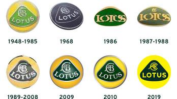 A Lotus új logója pedig...