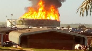 30 ezer tonnás etanoltartály robbant fel egy brazil gyárban