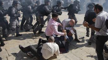 Egybeesett két vallási ünnep, verekedés tört ki a Templom-hegyen