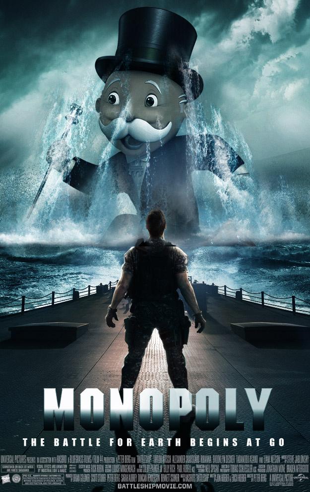 monopoly poster Battleship