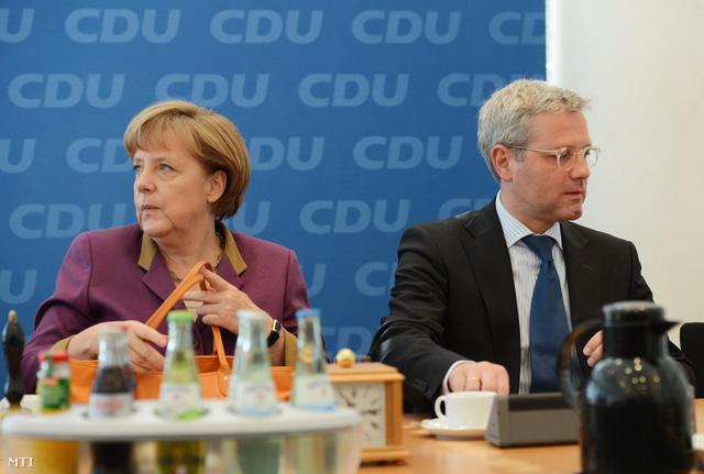 Angela Merkel és Norbert Röttgen