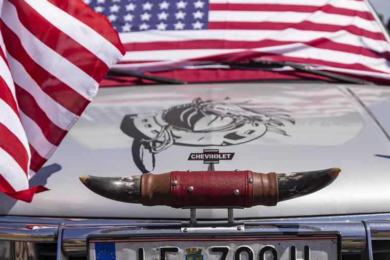 Az amerikai autós életérzés esszenciája egy fotón