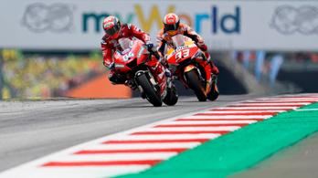 Utolsó kanyaros előzéssel nyert Dovizioso az osztrák MotoGP-n