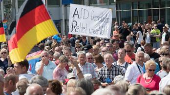 A szélsőjobb AfD a legnépszerűbb a volt NDK-ban