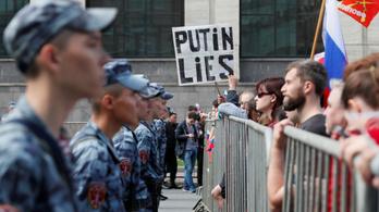 Putyinék megrendszabályoznák a Google-t az ellenzéki tüntetések miatt
