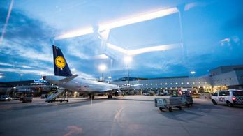 Alighogy felszállt Frankfurtban, vissza is fordult egy Lufthansa-gép