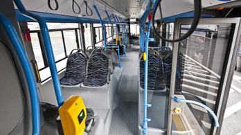 Több mint 300 BKV-buszon nem működik a klíma