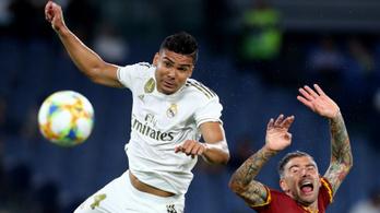 Nagy meccset játszott a Real Madrid és a Roma egy cserepes növényért