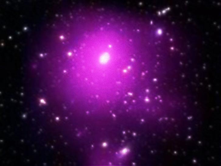 Az Abell 85 galaxishalmaz, ahol a Holm 15A is található
