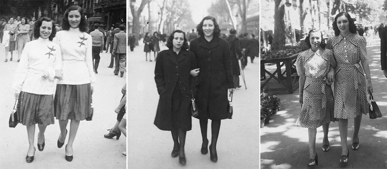 A Szinte minden képen negyedik albumában egy kétpetéjű ikerpár portréi láthatóak az 1940-es évekből. A fotókon a második világháború is egyre jelentősebb szereplő lesz, majd egyszer csak az egyik fényképen már csak egy testvér szerepel.