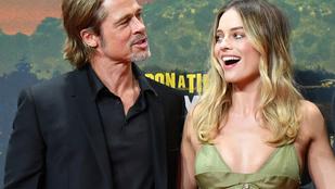 Margot Robbie és Brad Pitt elárulták, hogy hányadán állnak egymással