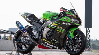 Érdemes egy pillantást vetni a Kawasaki endurance versenymotorjára