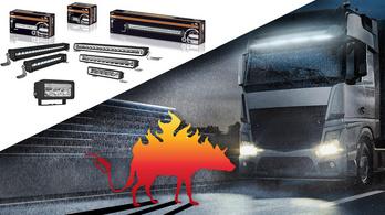 Hiéna: felismerni a kamiont cifra lámpájáról?