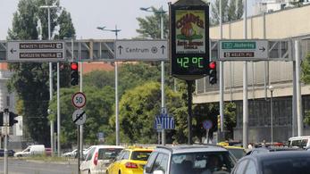 Budapest másfélszer többet melegedett száz év alatt az országos átlagnál