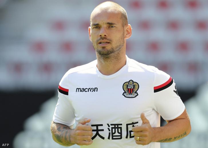 Wesley Sneijder a Nice játékosaként