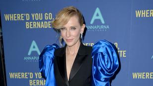 Ebben a ruhában Cate Blanchett egy amerikai futballmeccset is végigjátszhatna