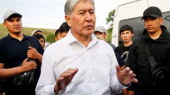 Államcsíny kísérletével is vádolják a volt kirgiz elnököt