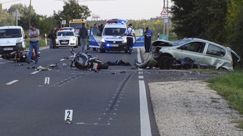 Útikalauz, ha baleseteznél motorral