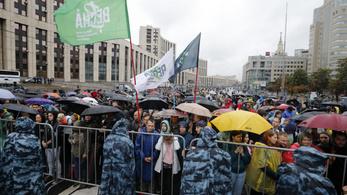 A Kreml szerint a kormányellenes tüntetések nem a politikai válság jelei