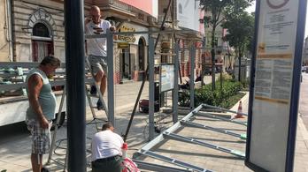 Kicsit elsiették a Széna téri buszvégállomás költözését