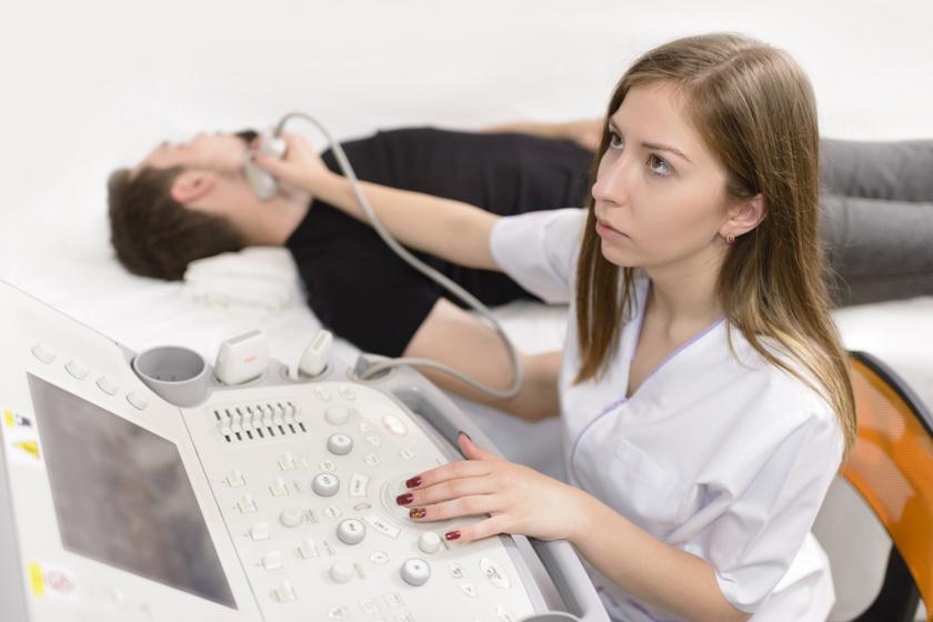 pajzsmirigy ultrahangos vizsgálata