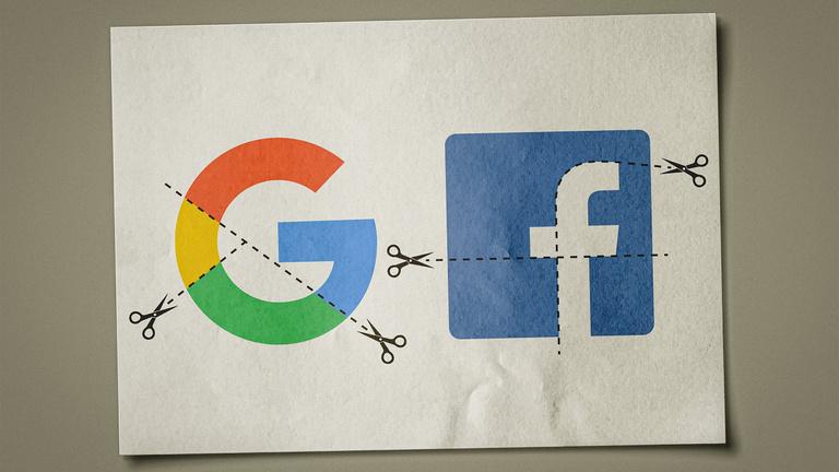 Tényleg feldarabolhatják a Facebookot és a Google-t?