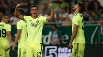 Átgázoltak a Fradin, 0-4-gyel ment tovább a Dinamo Zagreb