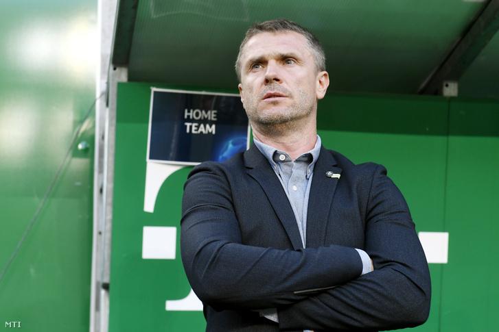 Szerhij Rebrov a Ferencváros vezetőedzője