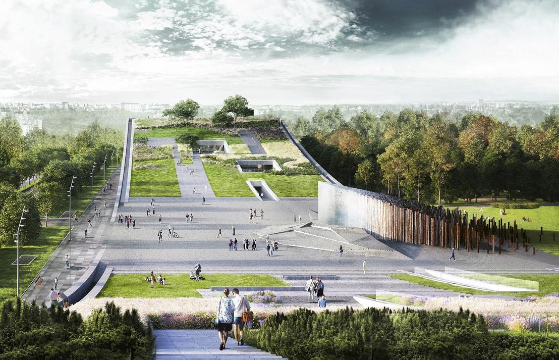 Az új múzeum látványterve