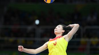 Négy évre eltiltották az olimpiai bajnok kínai röpist dopping miatt