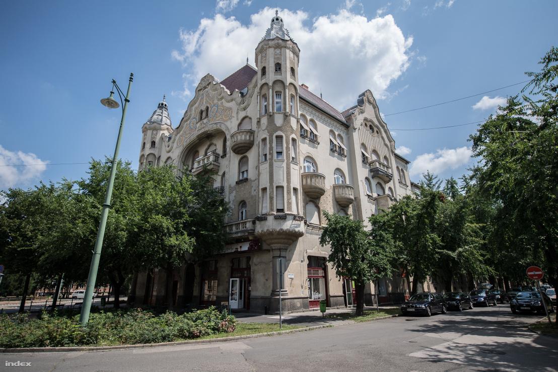 Gróf-palota, Raichle J. Ferenc épülete 1912-ből. Szeged, Tisza Lajos körút 20/B