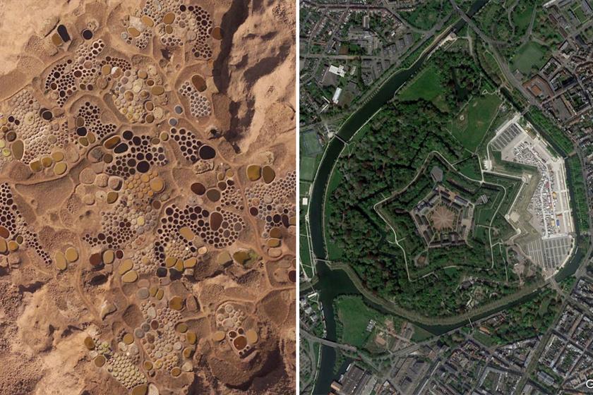 Furcsa képekre bukkant egy tudós a Google Térképen: sokan nem sejtik, hogy ott vannak