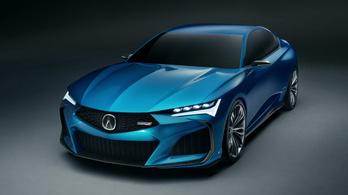 Új sportszedánt mutat a Honda luxusmárkája