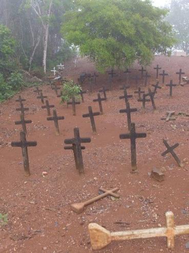 És a temető manapság