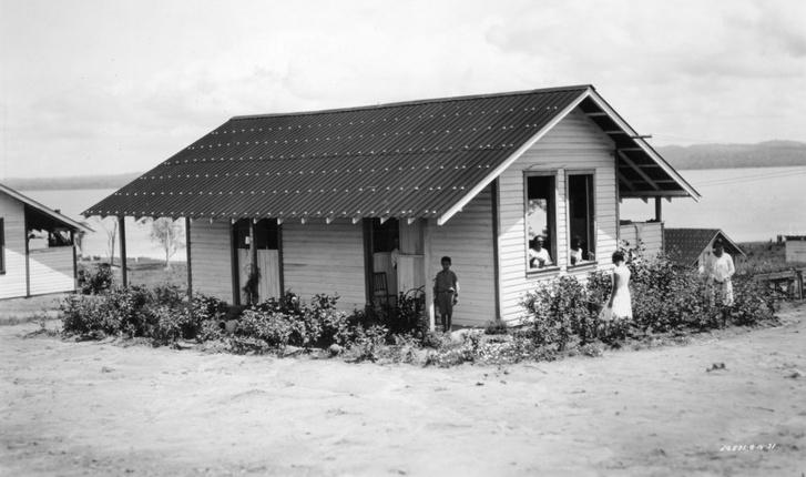 Családi házikó Fordlandiában