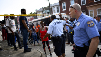 Lövöldözés és túszejtés volt Philadelphiában, több rendőrt meglőttek
