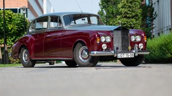 VETERÁN: Rolls-Royce Silver Cloud III – 1962. Egyben a közelgő Cross Hungary-túra egyik indulója