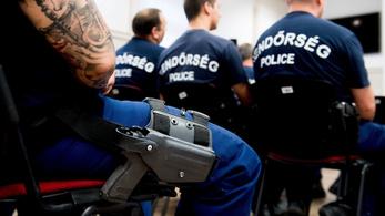 Nyolc év alatt összesen 19-szer kellett fegyvert használniuk a rendőröknek