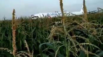 Videón az utasszállítóba csapódó sirályraj