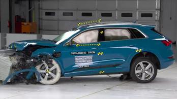 Az Audié most a legbiztonságosabb villanyautó