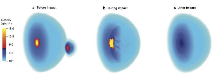 Számítógépes szimuláció a Jupiter magjának átalakulásáról