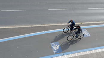 A németeknél jönnek a gyorsforgalmi kerékpárutak